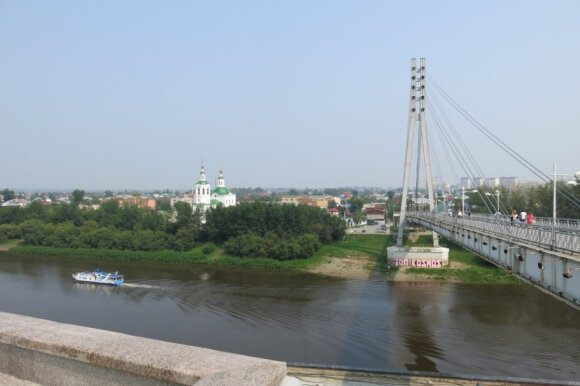 Tiumenė - naftininkų miestas