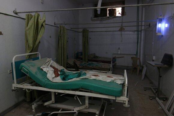Ligoninės palata Alepe