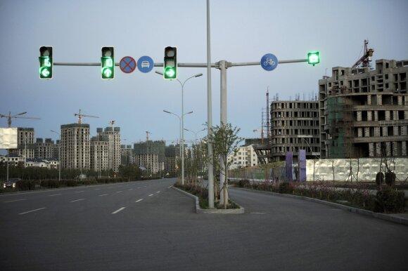 Miestas-vaiduoklis: čia turėjo gyventi 1 mln. žmonių, bet jis stovi tuščias