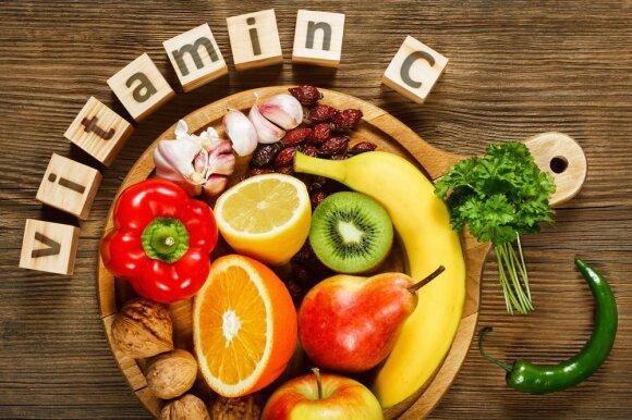 Produktai, kuriuose yra vitamino C