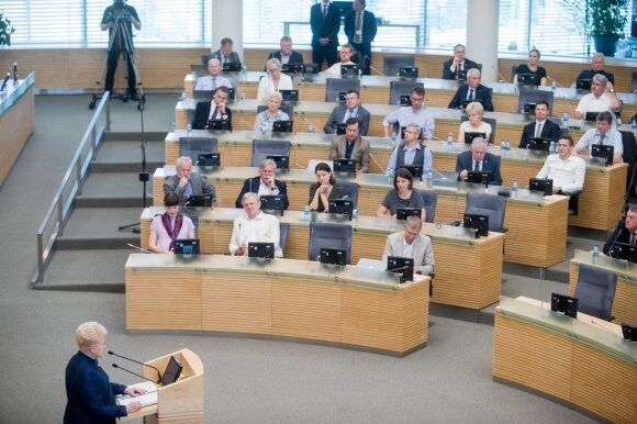 Valatka: tai buvo silpniausias Grybauskaitės pranešimas iš visų