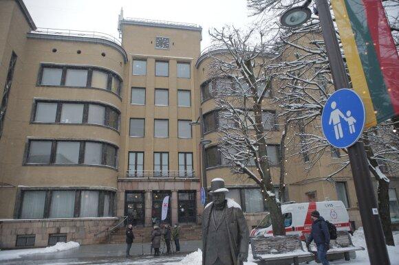 Kauno Centrinio pašto rūmuose vakcinuojami pirmieji medikai
