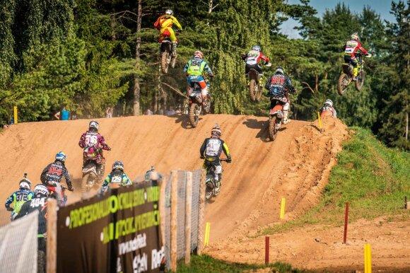 Motociklų kroso čempionato etapas Rokiškyje