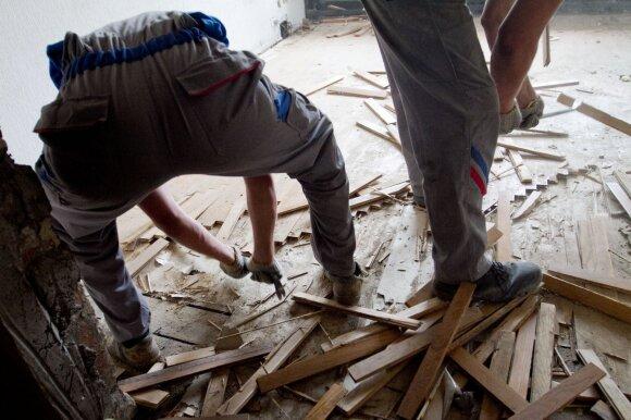 Pavyks ir sutaupyti: ekspertai pataria, kaip kuo pigiau atlikti būsto remontą