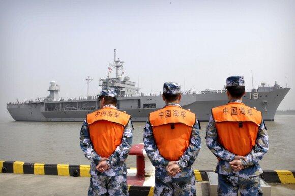 Kinija džiaugiasi nauju koziriu, galinčiu paralyžiuoti JAV laivyną