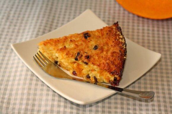 Varškės apkepas, kurio skonis prilygsta gardžiausiam pyragui