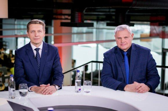 Arvydas Vaitkus ir Vytautas Grubliauskas