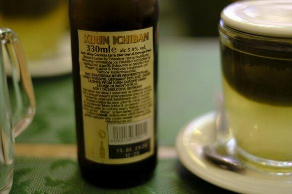 Ne, šis alus nėra iš Japonijos