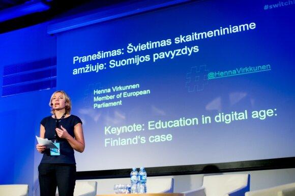 Buvusi Suomijos švietimo ir mokslo ministrė: atlyginimas daugybei mokytojų nėra svarbiausias dalykas