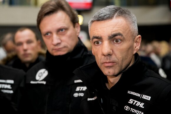 Vitoldas Milius, Sebastianas Rozwadovskis