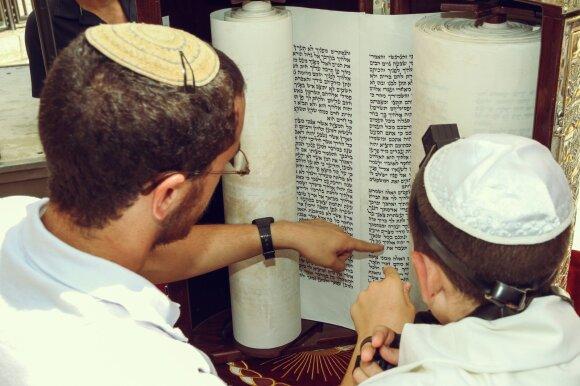 Žydų ortodoksų šeima