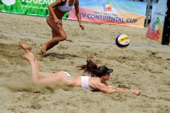 Paplūdimo tinklinis / FOTO: CEV
