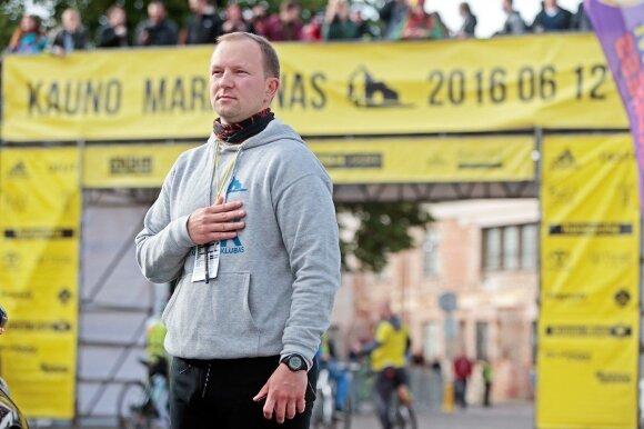 """""""Kauno maratono"""" idėja kilo per medaus mėnesį JAV"""