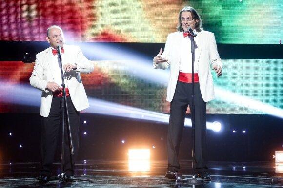 Artūras Orlauskas - Zakarauskas ir Gintautas Kirkila - Klarkas