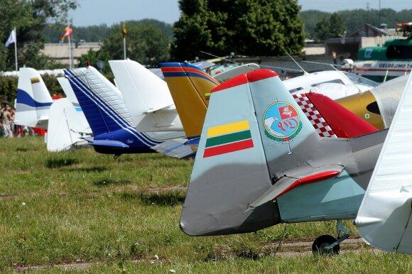 Kauno S. Dariaus ir S. Girėno aerodromas mini savo 100 - metį