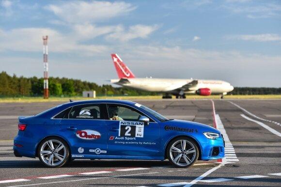 """""""Audi RS3"""" išlaikė """"Press ralio"""" egzaminą"""