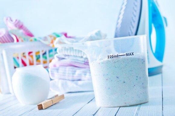 Pasitikrinkite skalbimo miltelių sudėtį: daugybė ligų susijusios būtent su jais