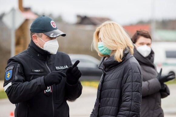 Kas vyksta uždarytoje Nemenčinėje: itin griežta tvarka ir maksimalus testavimas