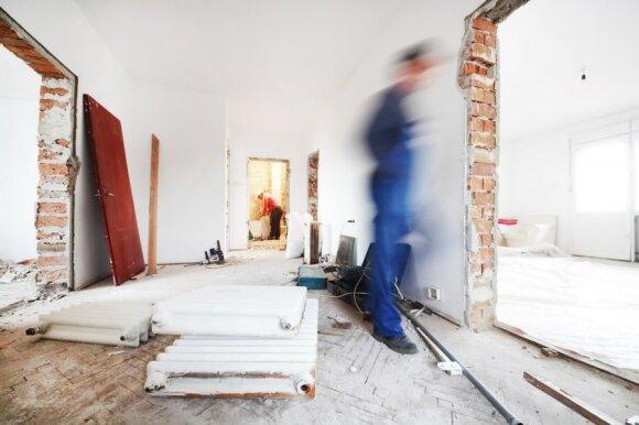 Statybininkai rado būdą užsidirbti daugiau: ir Lietuvoje per mėnesį galima gauti 1800 eurų