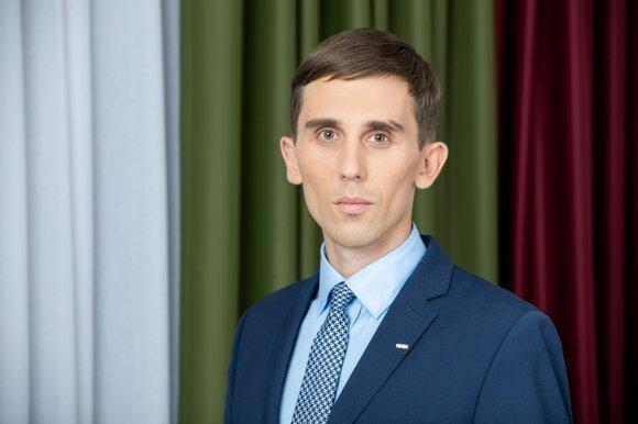 SEB banko vyriausiasis ekonomistas Tadas Povilauskas
