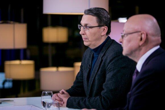 Vytautas Briuveris ir Rimvydas Valatka