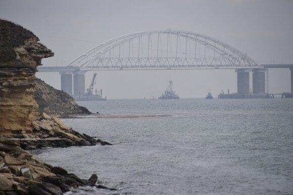 Украина задержала российский танкер за блокировку украинских кораблей в Керченском проливе