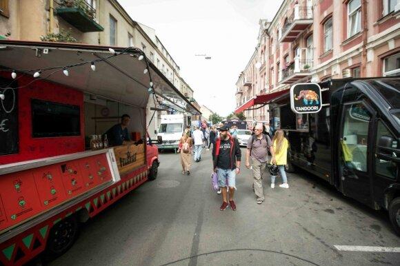 Naujajame gatvės turguje vieną dieną per savaitę Vilnius virsta į Berlyną