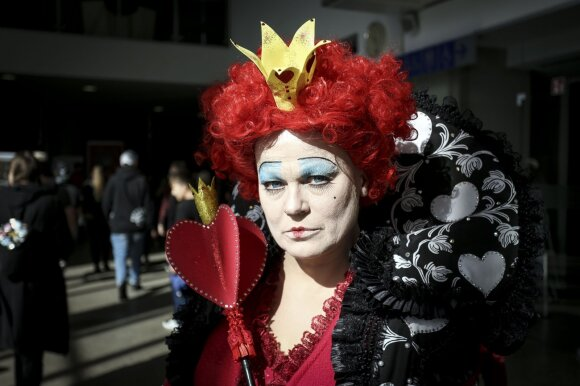 Crazy Queen /Foto: Ieva Budzeikatė