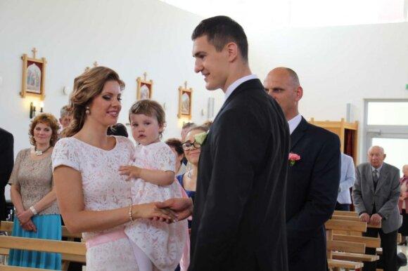 S. Galdiko ir V. Liaučytės vestuvės