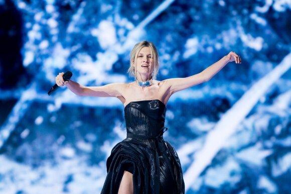 Eurovizijos finalas. Serbija: Nevena Božović – Kruna