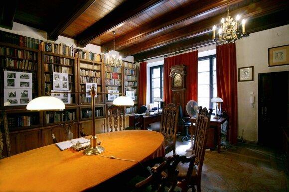 Patekęs į šią unikalią biblioteką tarsi persikeli į kitą pasaulį