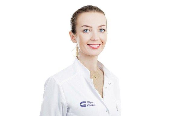 Gijos Klinikos dermatologė Ilona Sakalauskienė