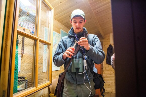 Ornitologas Vytautas Eigirdas