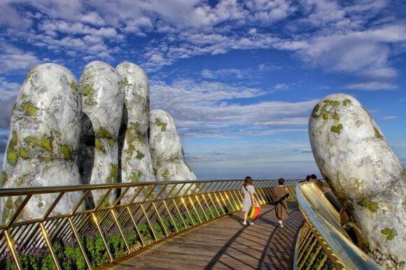 Cau Vang tiltas Vietname