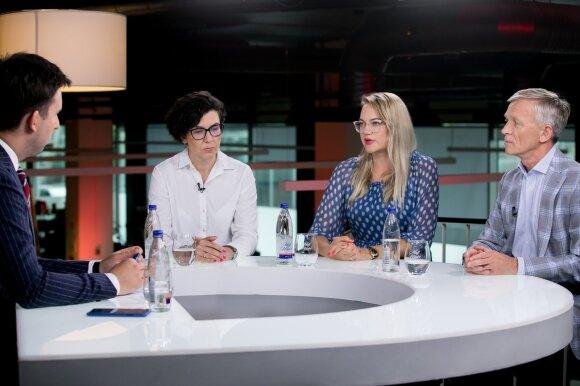 Rita Karavaitienė, Kristina Bliakevičienė, Arvydas Avulis