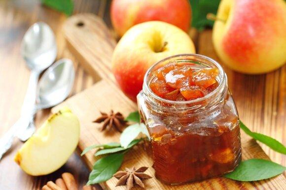Sausas obuolių džemas