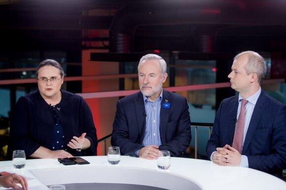 Agnė Širinskienė, Jurgis Razma, Simonas Gentvilas