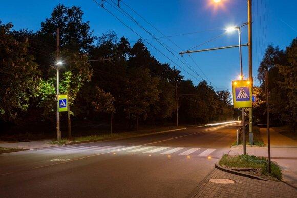 Įspėjamieji LED žibintai