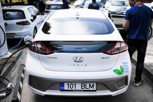 Elektromobilių lenktynės (asociatyvi nuotr.)