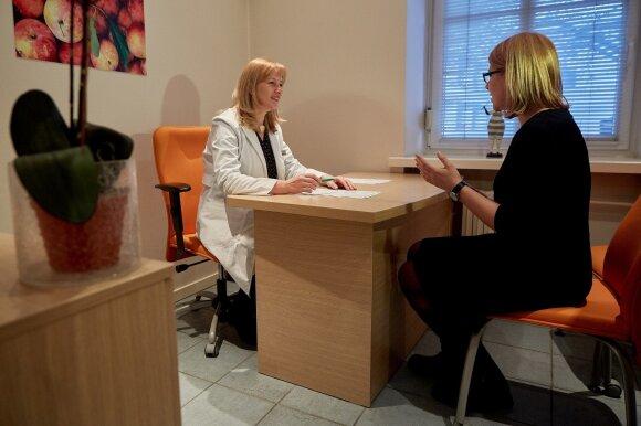 Konsultuoja gydytoja Edita Gavelienė