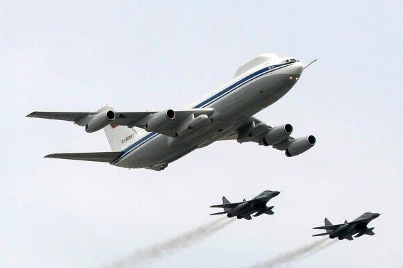 """Antros kartos orlaivis """"IL-80"""""""