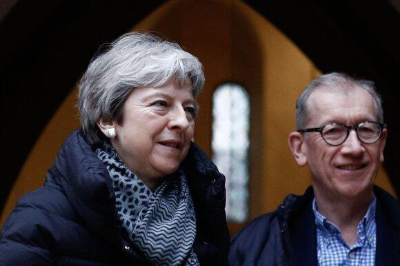 Theresa May su vyru Philipu