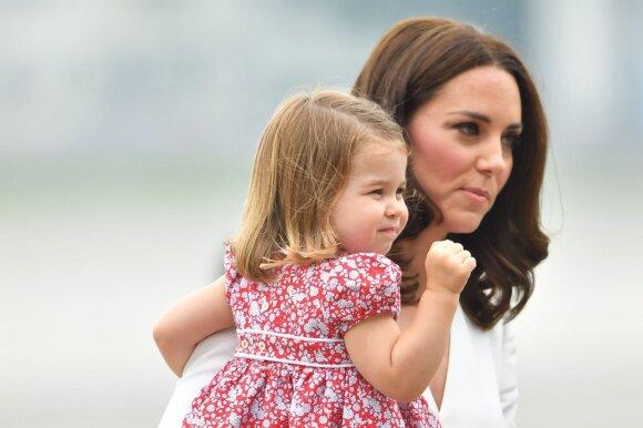 Kate Middleton su dukra Charlotte