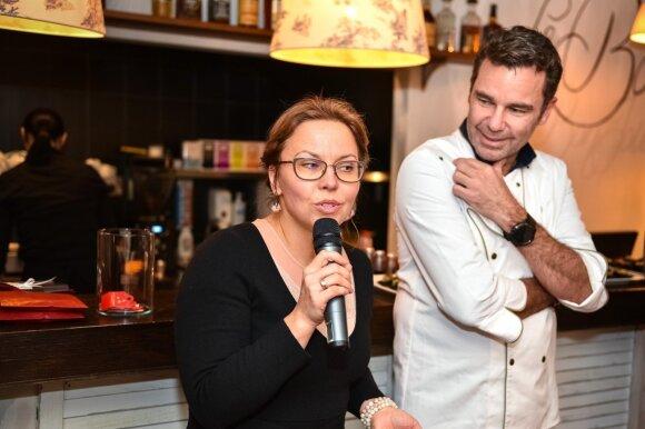 Daiva Svigarienė ir Danilo Bianco