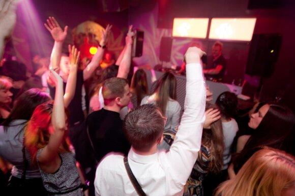 """Paskutinė""""RyRalio DJs"""" diskoteka           J.Rimeikio nuotr."""
