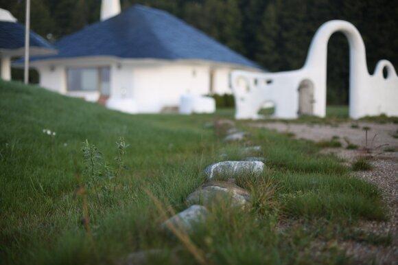 Namas iš organiškų medžiagų