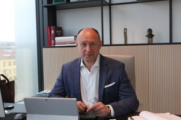 "Kęstutis Vanagas, UAB ""YIT Lietuva"" generalinis direktorius"