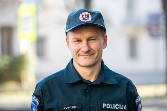 Lietuvos kelių policijos tarnybos Administracinės veiklos ir eismo priežiūros skyriaus vyriausiasis tyrėjas Rytis Vosylius