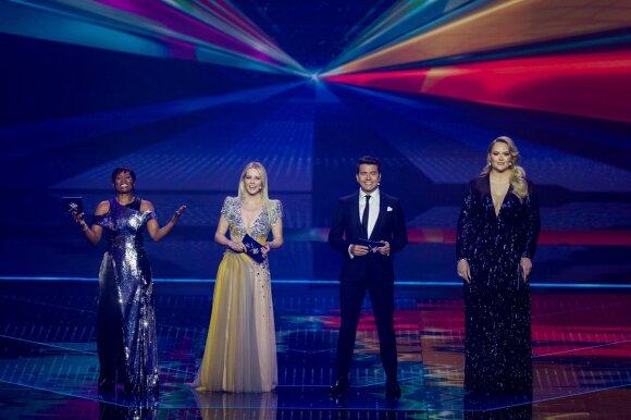 """Nugriaudėjo pirmasis """"Eurovizijos"""" pusfinalis: sėkminga """"The Roop"""" diskoteka ir 10 šalių, patekusių į finalą"""