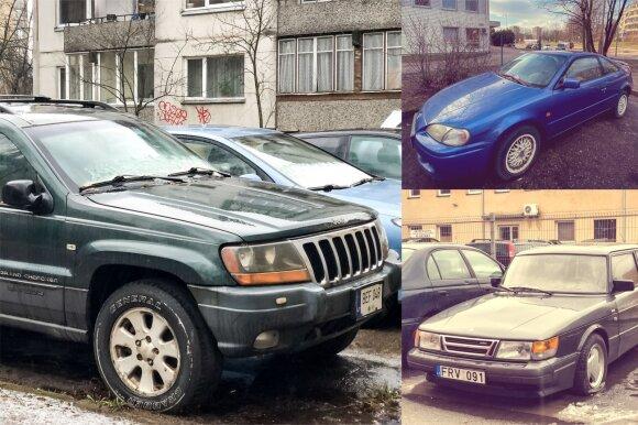 Tarp apleistų automobilių galima atrasti ir retesnių